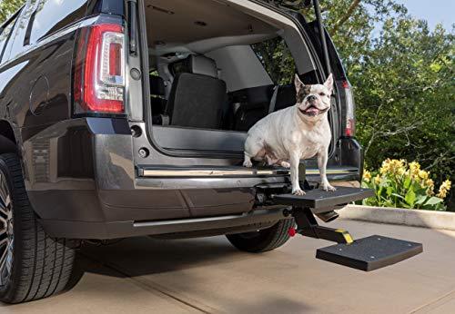 PetSafe Solvit PupSTEP HitchStep Haustiertreppe, Stufen für LKW- und SUV-Kupplungen, ideal für mittelgroße bis große Hunde