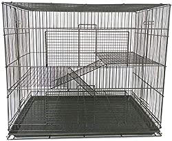 The Wire Bar Spacing Is Half An Inch To Prevent Escape Attempts And Multi Level Design Includes A Number Of Platforms Ladders Although These You
