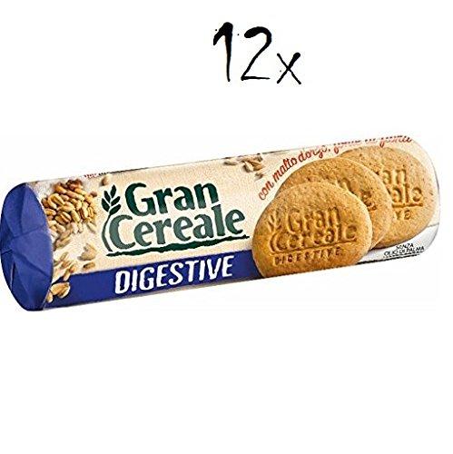 12x Mulino bianco Gran Cereale Digestive Gerstenmalz kekse Multi Cerealien 250g