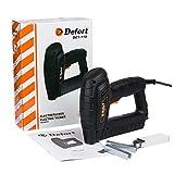 Defort DET-110 - Grapadora eléctrica (20 S/min, apta para grapas y clavos)
