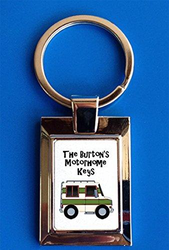 Maisie Moo Gifts Limited Personalised Motorhome Campervan Keys Gift Keyring
