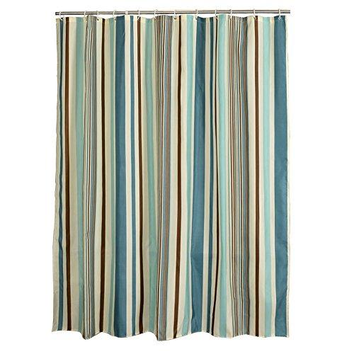 Baiyun flyin Mai® Duschvorhang, europäischer Stil, Polyester, wasserdichte Verdickung, vertikale gestreifte Badezimmer Trennwand Vorhang, Vorhang, Fenster Vorhang (größe : 150 * 180cm)