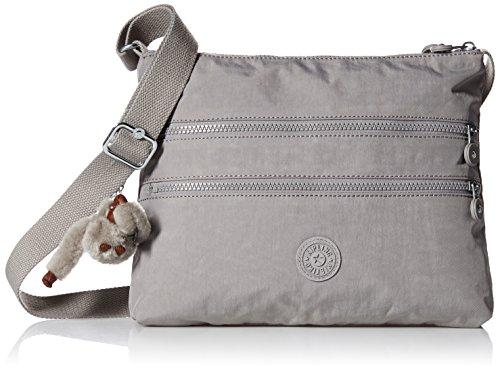 Kipling Women's Alvar Slate Grey Tonal Crossbody Bag, t