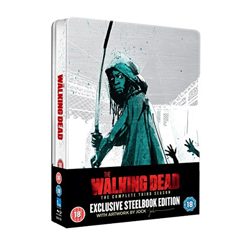 The Walking Dead: The Complete Third Season - Entertainment Store Exclusive Steelbook Edition [UK Import ohne dt. Ton]