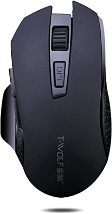 0b71ddd31df Urchoiceltd ® Wireless Mouse, Evesky X7 Ratón Recargable USB 2.4GHz En  Silencio Raton Optico