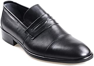 Fosco 1517 Neolit Taban Siyah Erkek (39-45) Klasik Ayakkabı