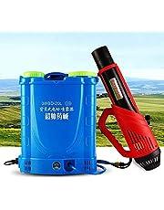 ANJING Pulverizador de Mochila 20L con batería de Litio, nebulizador eléctrico portátil para Interiores, Exteriores, Lugares públicos, desinfección, jardín, Mosquito Asesino