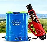 WZJDY 20L Zaino Atomizzatore Elettrico Nebulizzatore Zanzara Killer con Batteria al Litio, per Ambienti pubblici all'aperto per Interni Disinfezione Agricoltura e Ufficio,14ah