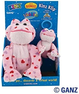 Webkinz Love Frog Kinz & Klip in Box
