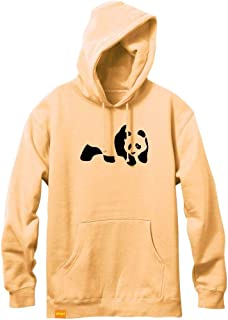 Enjoi Panda Flocking Peach Pullover Hoodie