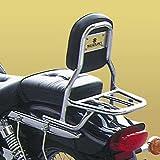 SPAAN - Respaldo con Porta- (Tubo Redondo) Suzuki Marauder 125 (Gz125)- 250 (Gz250)