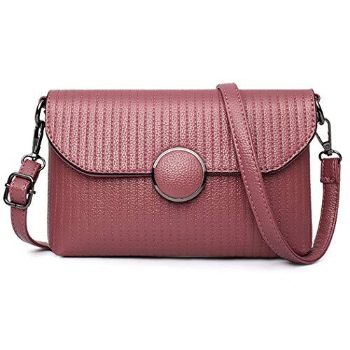 Fanspack PU Leather Crossbody Bag Casual Clutch Hangbags Shoulder Bag Purse for Women