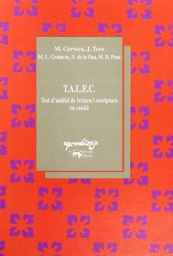 T.A.L.E.C.: Test d'anàlisi de lectura i escriptura en català (Aprendizaje)