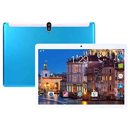 HAIWEI Tableta de 10 Pulgadas, procesador de Cuatro núcleos con 8 GB de RAM y 128 GB de ROM, cámara de 8 13 MP, Doble SIM, 8800 mAh, WiFi, Bluetooth, GPS, Llamada telefónica 3G y Tableta WiFi