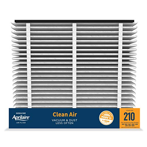 Aprilaire - 210 A1 210 Replacement Air Filter for Whole Home Air Purifiers, Clean Air Dust Filter, MERV 11 (Pack of 1)