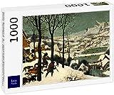 Lais Puzzle Pieter Bruegel l'Ancien - Cycle des Images du Mois, scène : Retour des Chasseurs (Mois de Janvier), détail 1000 Pièces
