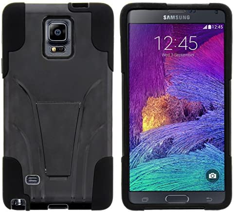 TurtleArmor Compatible with Samsung Galaxy Note 4 Case N910 Gel Max Impact Proof Cover Hard product image