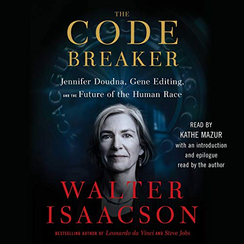 The Code Breaker Audiobook By Walter Isaacson cover art