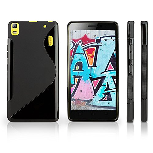 Case for Lenovo K3 Note (Case by BoxWave) - DuoSuit, Ultra Durable TPU Case w/Shock Absorbing Corners for Lenovo K3 Note - Jet Black