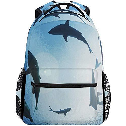 Limier Aurora Zaino Subacqueo Shark Ocean Zaini Animali Zaino A Spalla Zaino da Viaggio Zaino da Viaggio Borse Casual