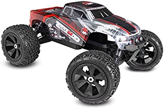 Redcat Racing Terremoto V2 Brushless Electric Monster Truck with 2.4GHz Remote Control, 1/8 Scale, Red