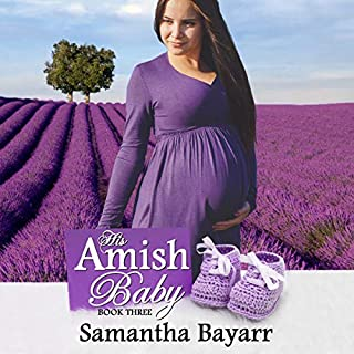 His Amish Baby audiobook cover art