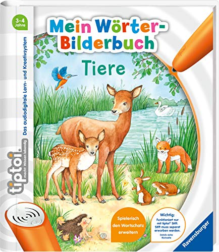 tiptoi® Mein Wörter-Bilderbuch Tiere