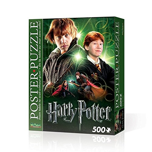 Wrebbit 3D WPP-5004 - Harry Potter Poster Puzzle Ron Weasly 500