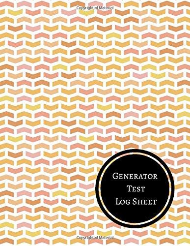 Generator Test Log Sheet: Generator Maintenance Log