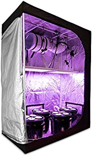 HTGSupply 2x4 Hydroponic LED Grow Kit | OTD 84 Full Spectrum LED + Grow Tent (24