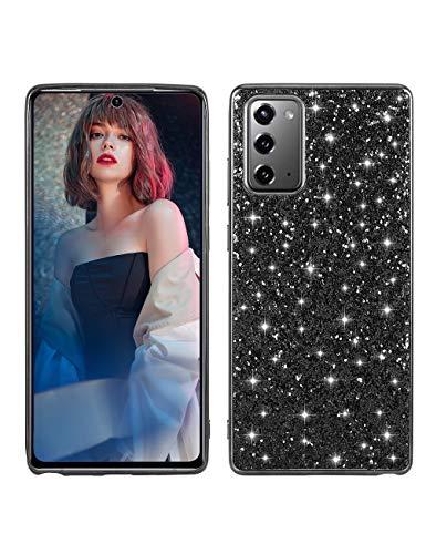 Kinnter Note 20 Ultra Funda para teléfono móvil compatible con Samsung Galaxy Note20 Ultra 5G, carcasa brillante fina de policarbonato y TPU Bumper resistente a los arañazos y antideslizante Funda