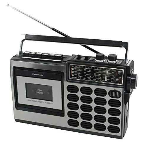 Soundmaster RR18SW Retro Radio Kassetten...