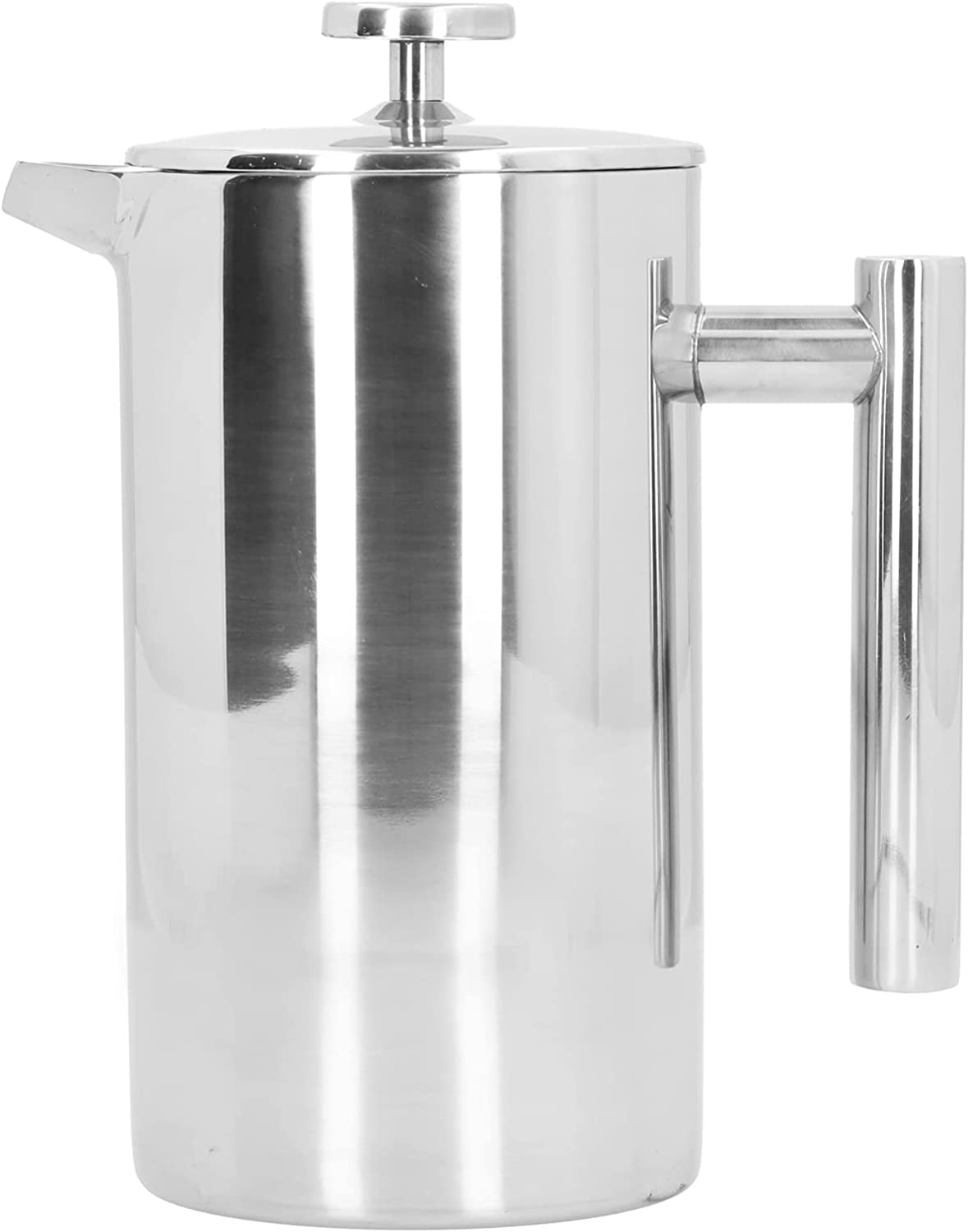 1000ml Double insulation Atlanta Mall Hand Brewing Steel Max 66% OFF Stainless Pot Coffee