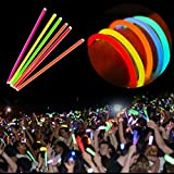 Zoom IMG-2 100pcs glowsticks netboat mixed color