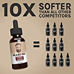 Best Beard Oil for men – Crafted Beard Oil Conditioner - Tobacco Vanilla Scent – All Natural Beard Oil and Mustache Oil… 3