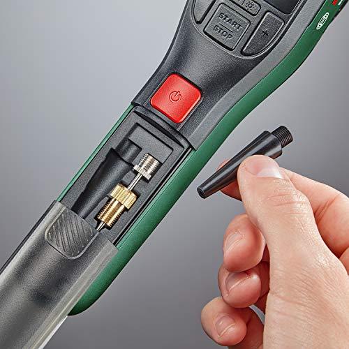 Bosch Home and Garden 603947000 elektrische Luftpumpe Mini Kompressor EasyPump (3,0 Ah Akku, 3,6 Volt, Autostop-Funktion, 150 PSI, 10,3 bar, LED, über USB-C® wiederaufladbar, in Karton) - 6