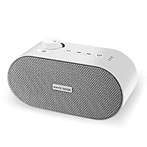 White Noise Machine, Portable Sleep Sound Machine with 26 High Fidelity Nature Sounds, with USB Output Charger Function Sleep Sound Therapy Machine for Home,Office,Travel,Baby,Kids and Adults
