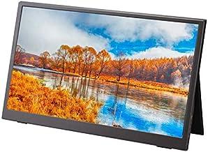 CNmuca Monitor portátil de 13,3 polegadas Tela de expansão do computador móvel Full High Definition Office Gaming Monitor ...