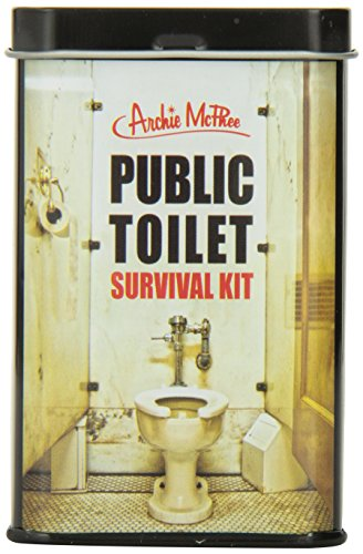 Funny public toilet survival kit gift idea for stocking stuffers for teenage boys