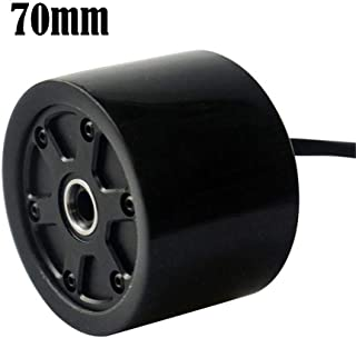 Gorgebuy Skateboard Hub Motor Wheels - 70/80mm Electric Skateboard Brushless Motor Wheels Kits - Electric Motor Wheels for Skateboard Longboard E-Skateboard