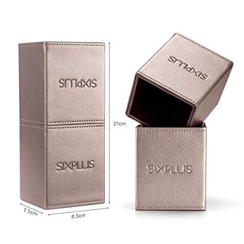 SIXPLUS(シックスプラス)『メイクブラシ15本セットコーヒー色』