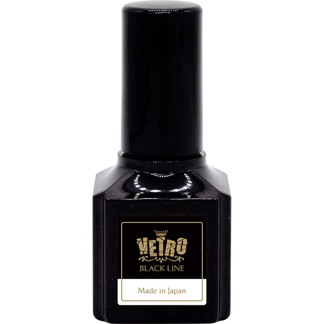 追放鳴らす洋服VETRO GP BLACK LINE カラージェル B150 ブラックパール 16ml UV/LED対応 ソークオフジェル