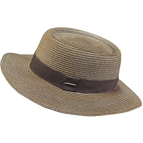 Barts Barts Damen Crispo Hat Panamahut, Braun (Marrone 0009), One Size
