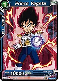 Dragon Ball Super TCG - Prince Vegeta - TB3-023 - C - Clash of Fates
