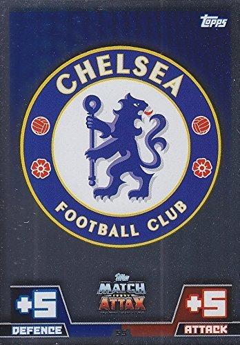 Match Attax 2014/2015 Chelsea Club Badge 14/15 By Topps [並行輸入品]
