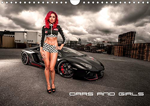 Cars and Girls (Wandkalender 2020 DIN A4 quer)