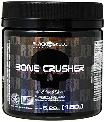 Bone Crusher - 150G Blueberry - Black Skull, Black Skull