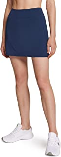 ATHLIO 1 or 2 Pack Women's Athletic Skorts Active Tennis Skirts, Workout Golf Skirt with Pockets Built-in Shorts