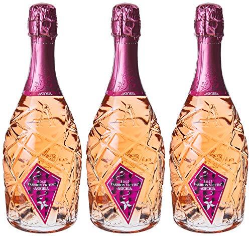 Astoria Rose Fashion Victim Spumante - 3 bottiglie da 750 ml