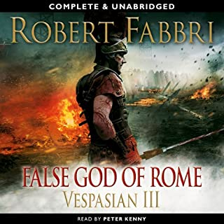Vespasian: False God of Rome audiobook cover art